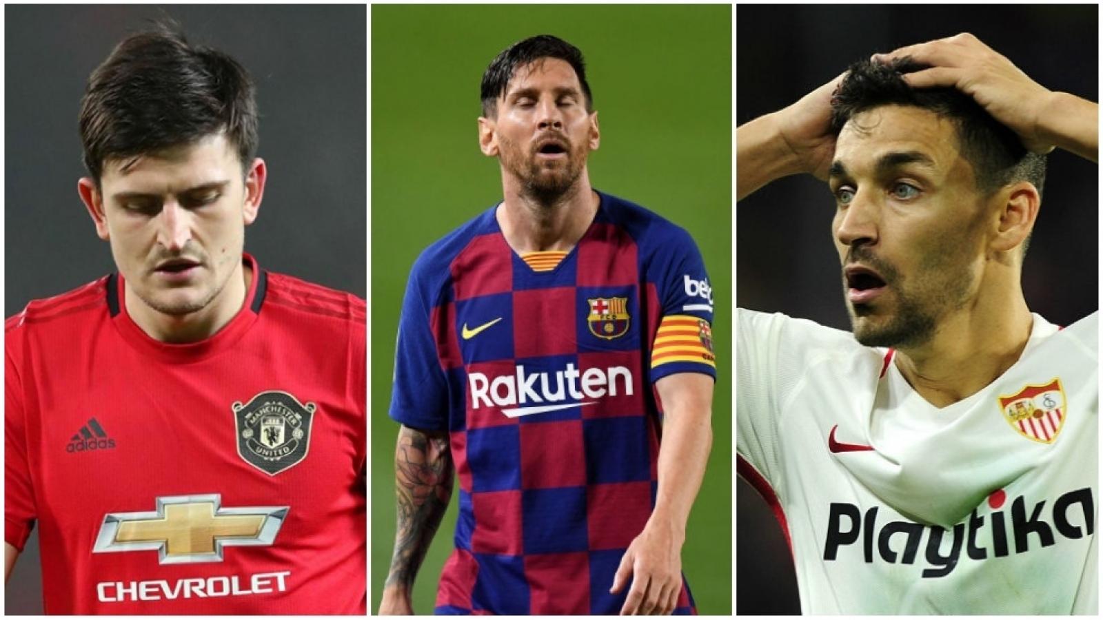 10 cầu thủ thi đấu nhiều phút nhất năm 2020: MU áp đảo, Messi không dẫn đầu