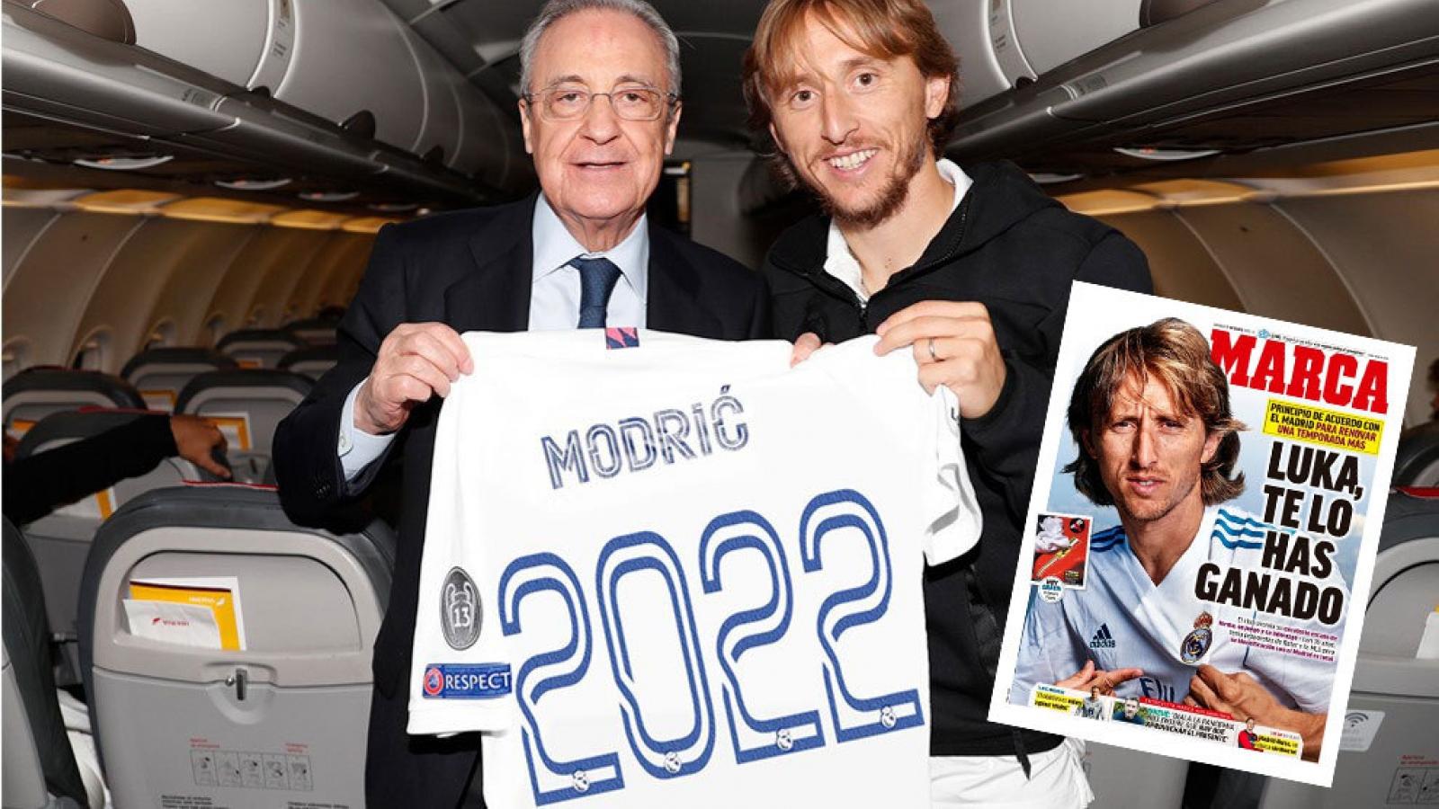 Real Madrid gia hạn hợp đồng với Quả bóng Vàng 2018