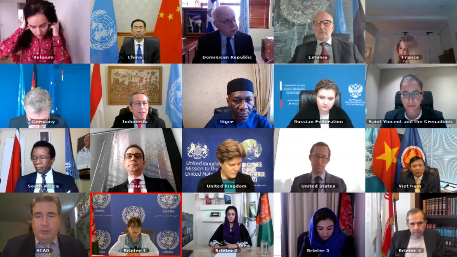 Việt Nam chia sẻ những thách thức về kinh tế và nhân đạo ở Afghanistan