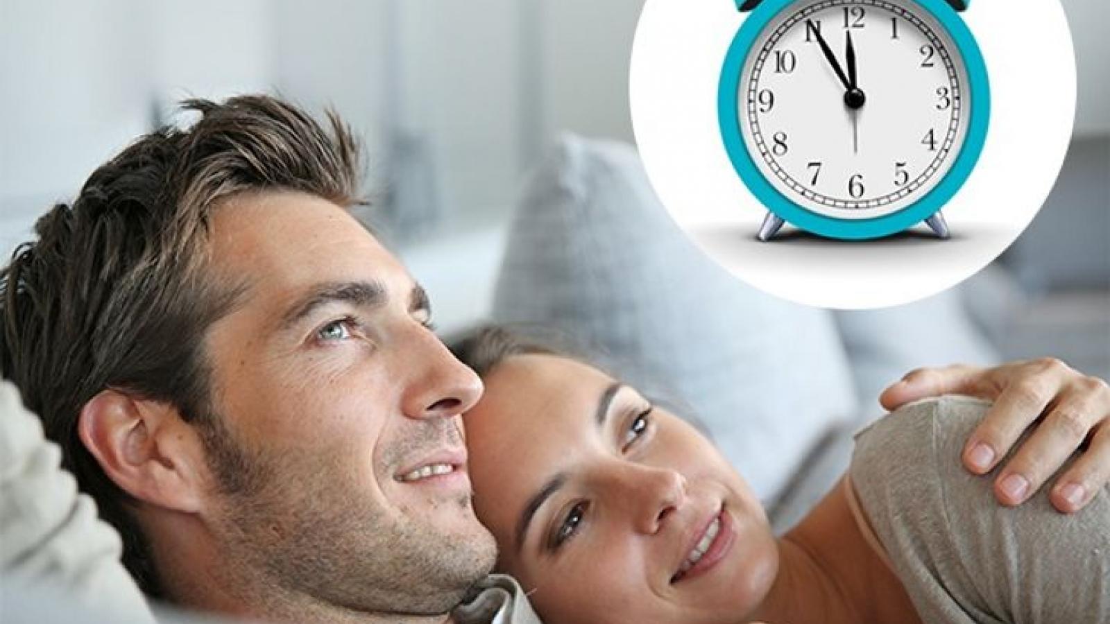 Những thói quen tốt trước khi ngủ nên duy trì để có đời sống đôi lứa hạnh phúc