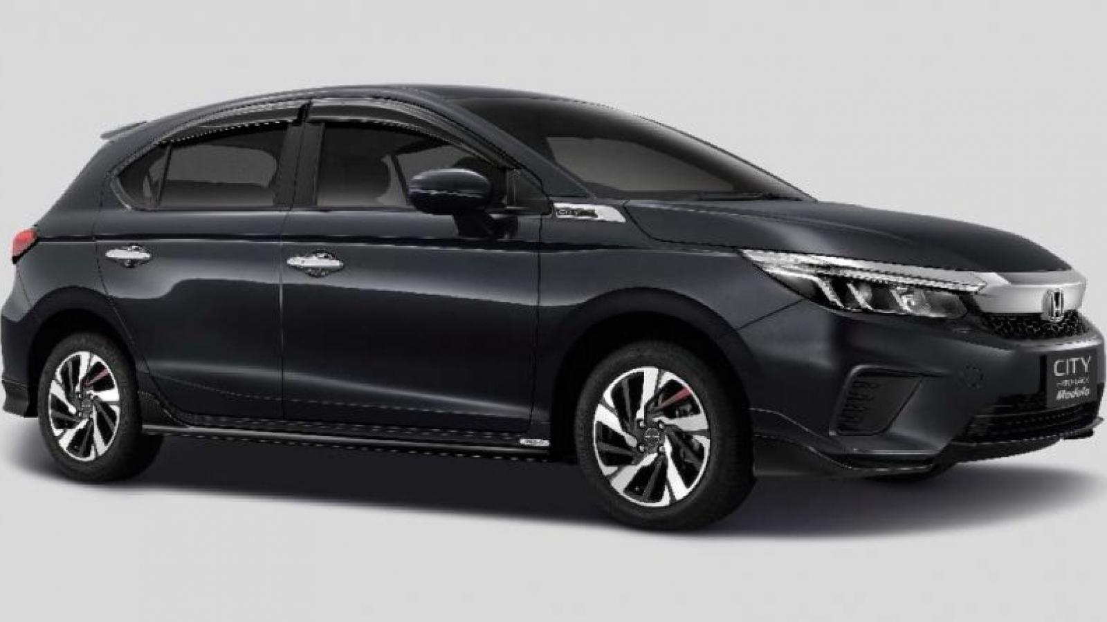 """Honda City Hatchback 2021 """"ngầu"""" hơn với gói phụ kiện Modulo"""