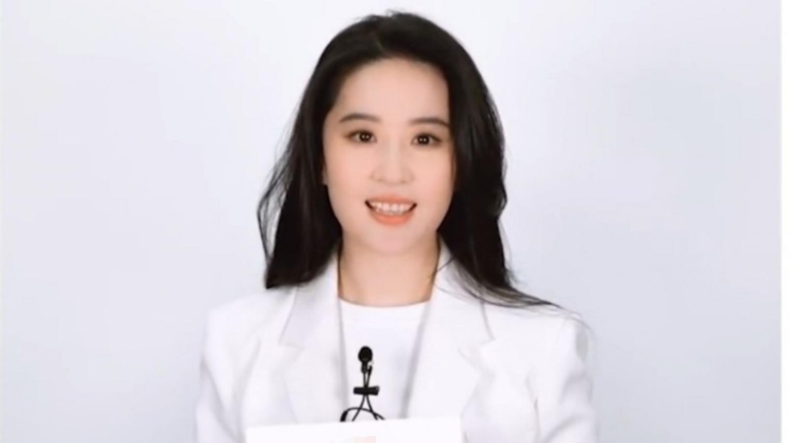 """Lưu Diệc Phi gây thất vọng với ngoại hình """"phát tướng"""" khác lạ"""