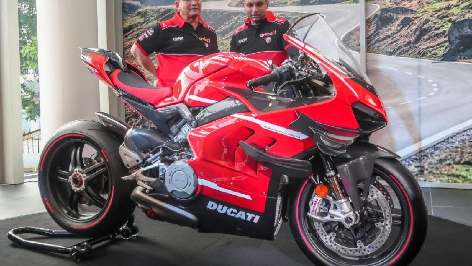 """Cận cảnh """"hàng hiếm"""" Ducati Superleggera V4 giá hơn 5 tỷ đồng"""