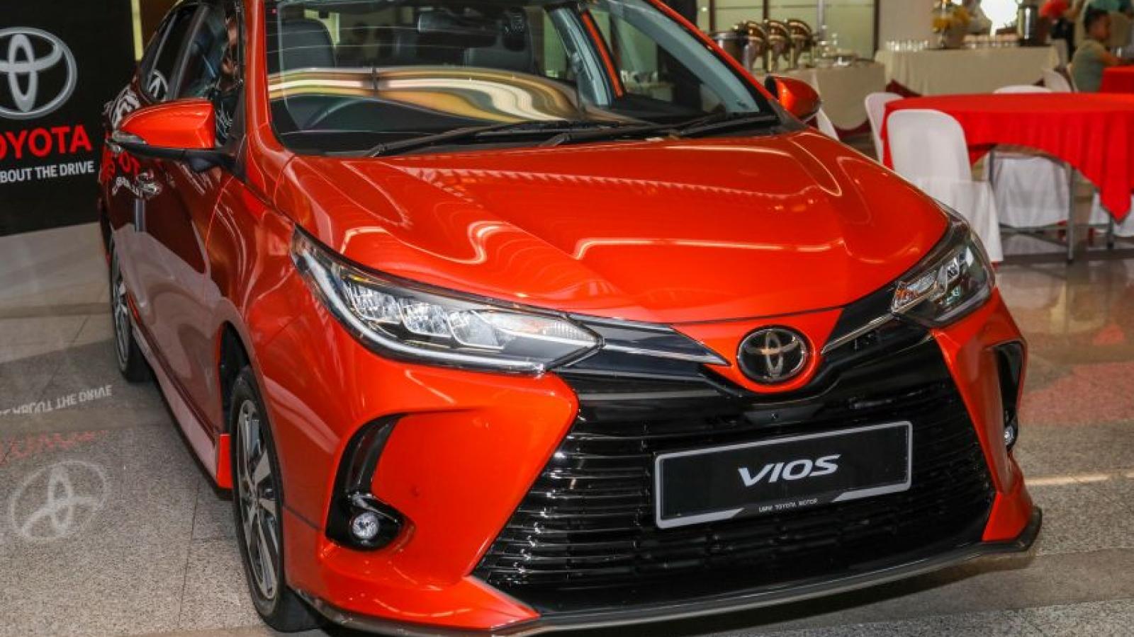 Khám phá Toyota Vios bản 2021 vừa ra mắt