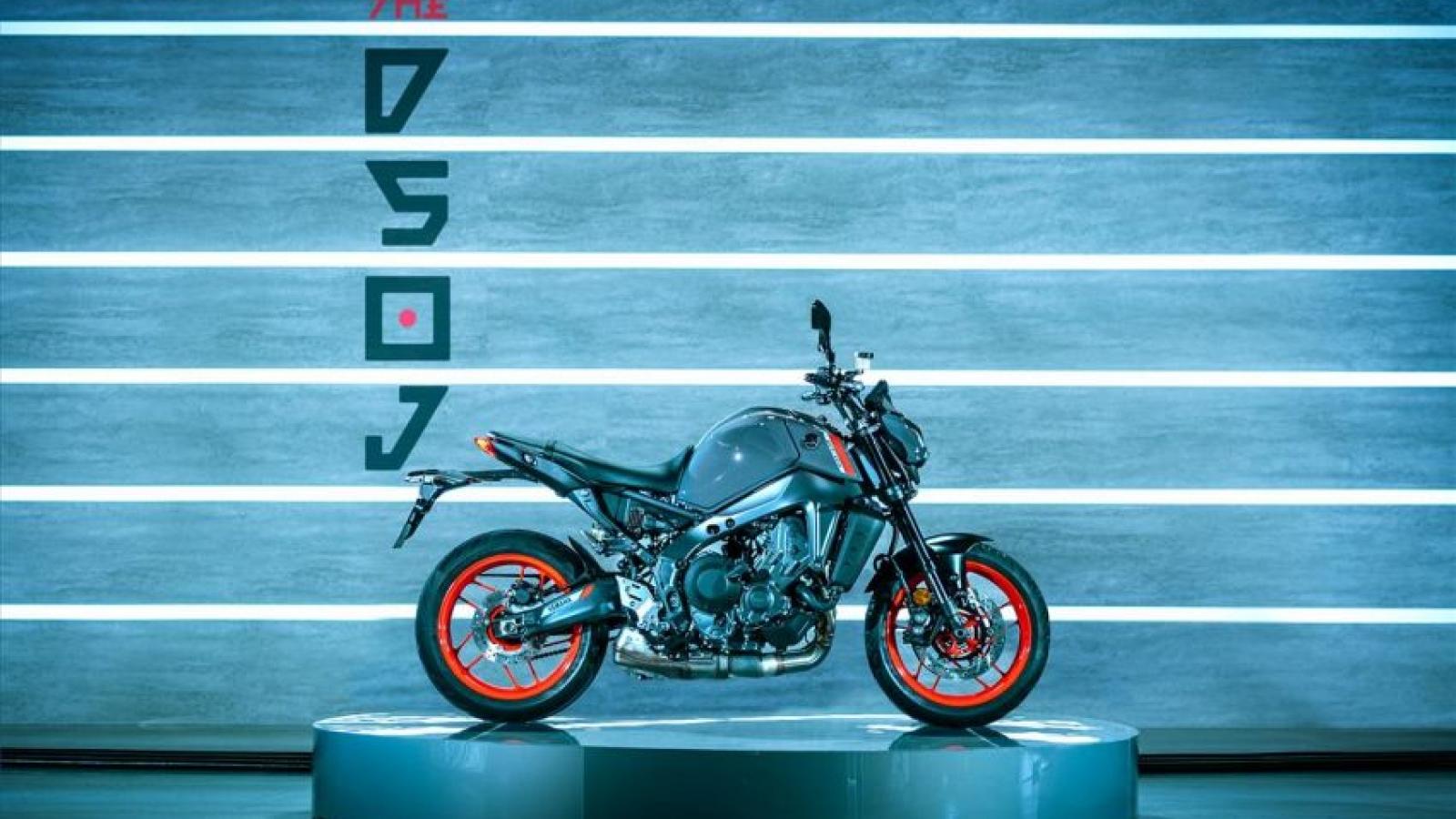 Yamaha MT-09 2021 nâng cấp hệ thống ống xả hoàn toàn mới