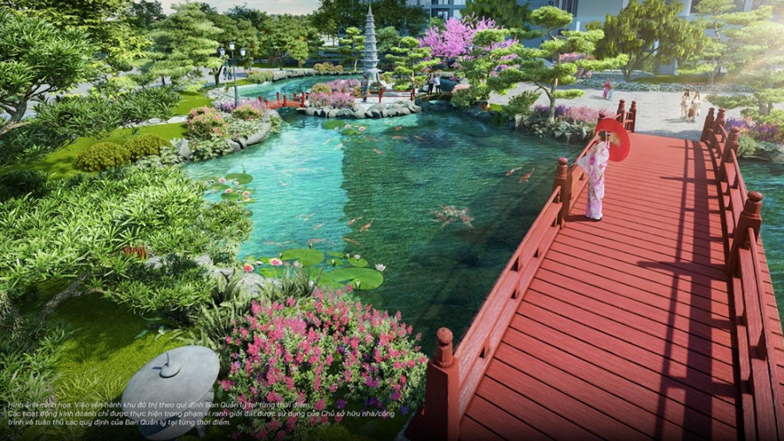 Tinh thần Nhật Bản giữa lòng Vinhomes Ocean Park
