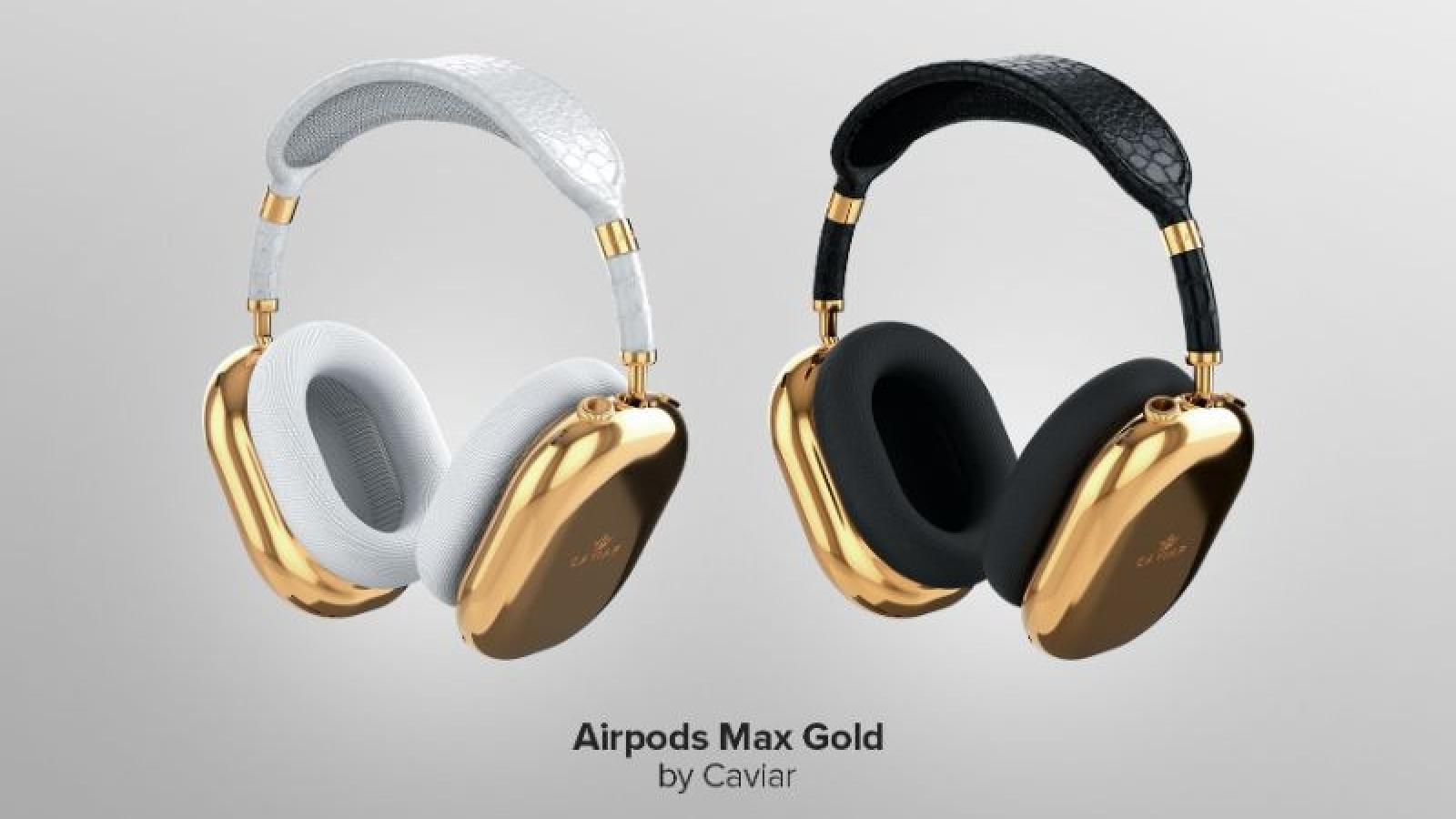 Phiên bản AirPods Max bằng vàng giá cao ngất ngưởng
