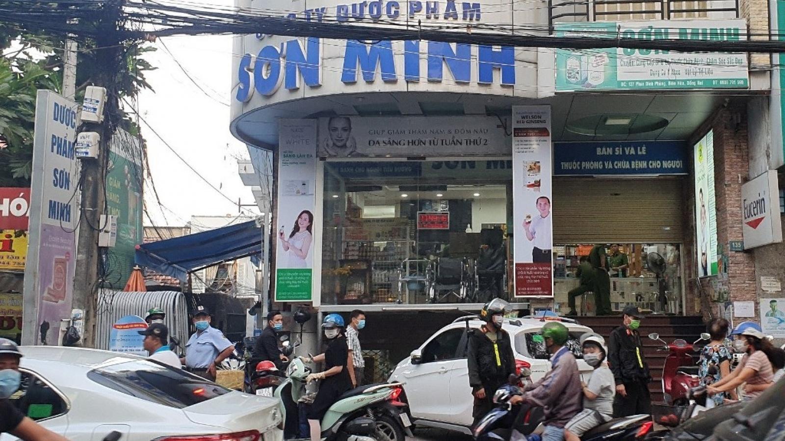 Số thuốc công an Đồng Nai tạm giữ lên đến 220 thùng trị giá 5 tỷ đồng