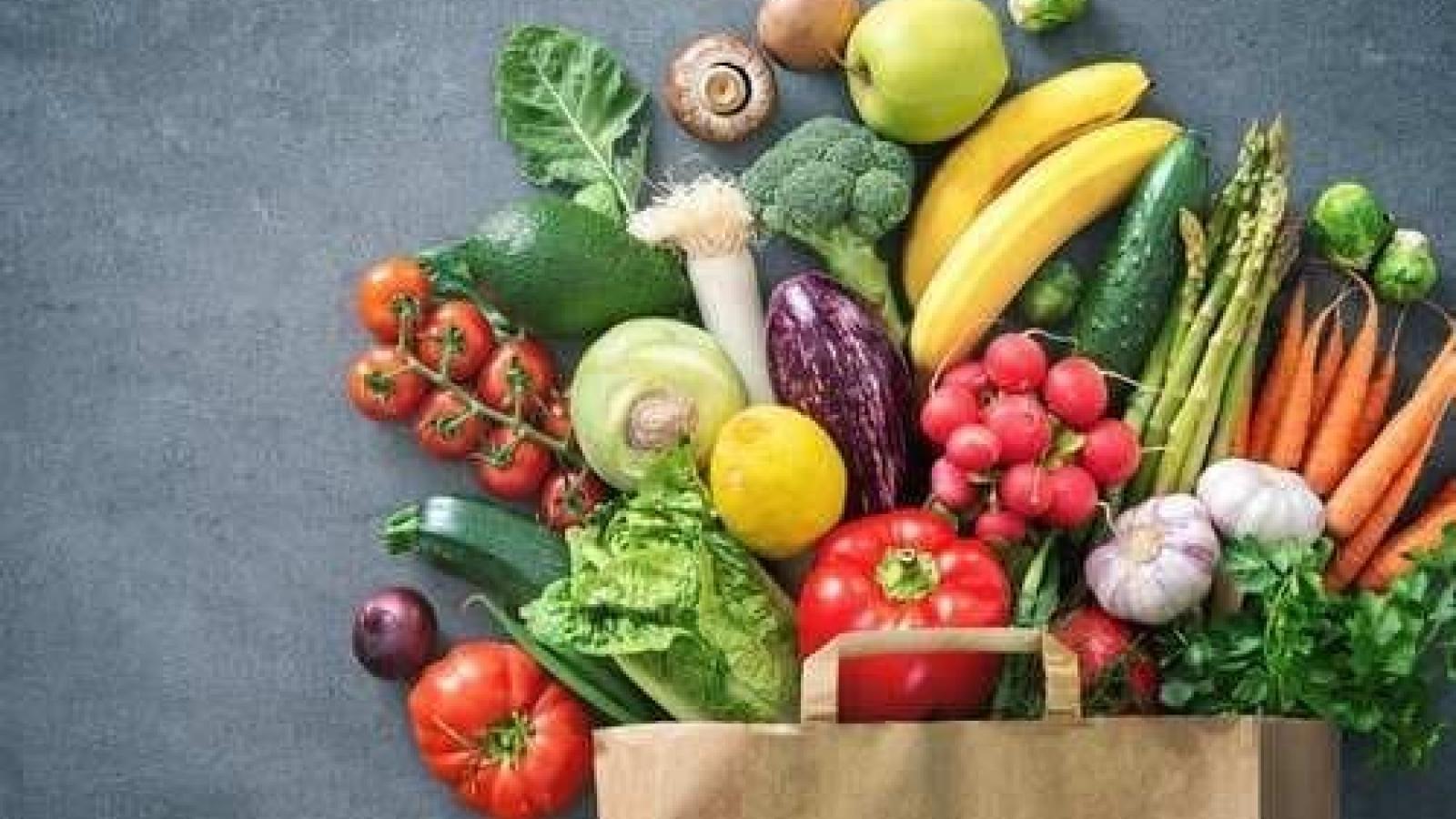 Mẹo bảo quản hoa quả và rau tươi ngon như mới