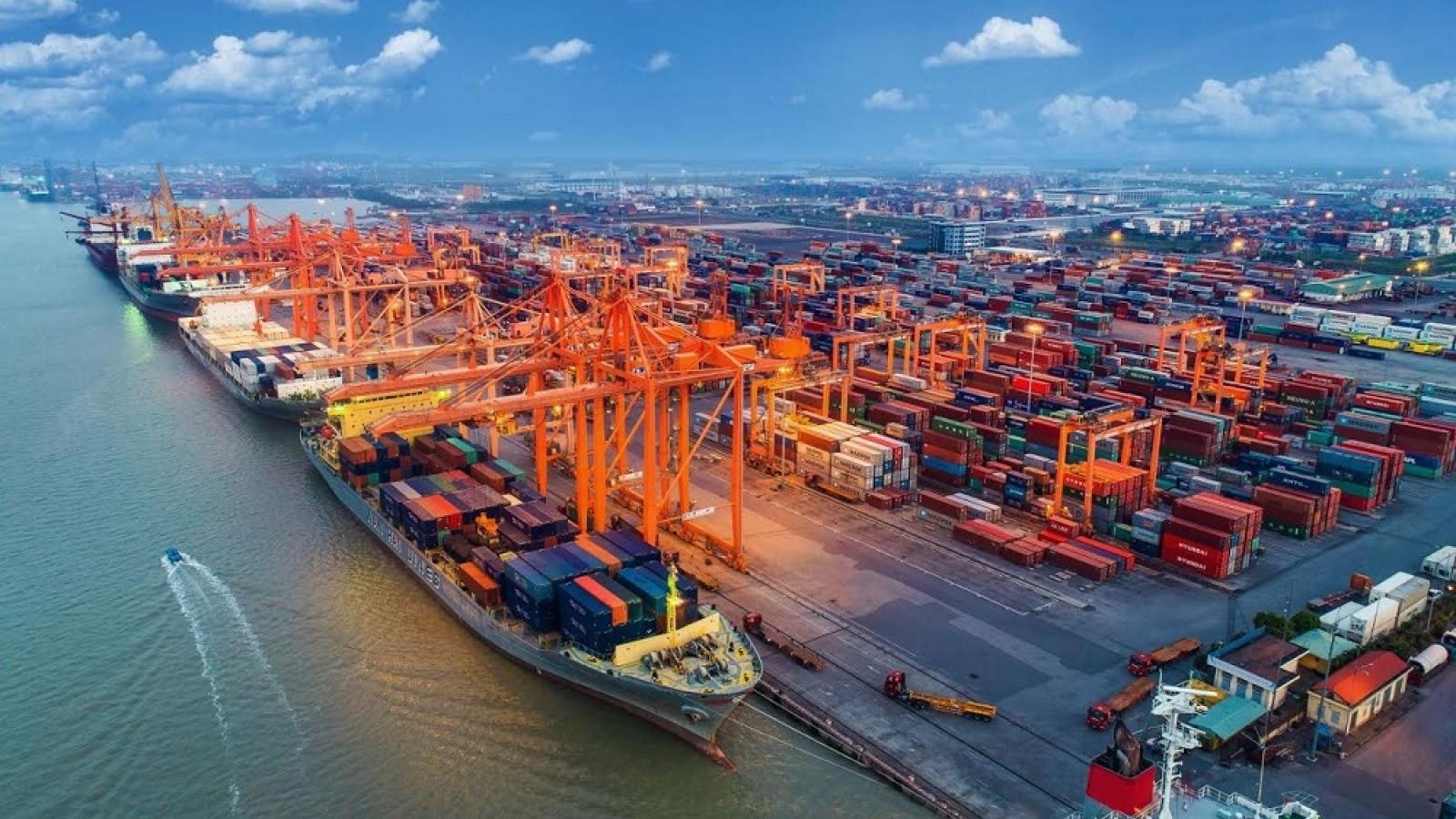Kim ngạch xuất nhập khẩu đạt 515 tỷ USD, xấp xỉ năm 2019