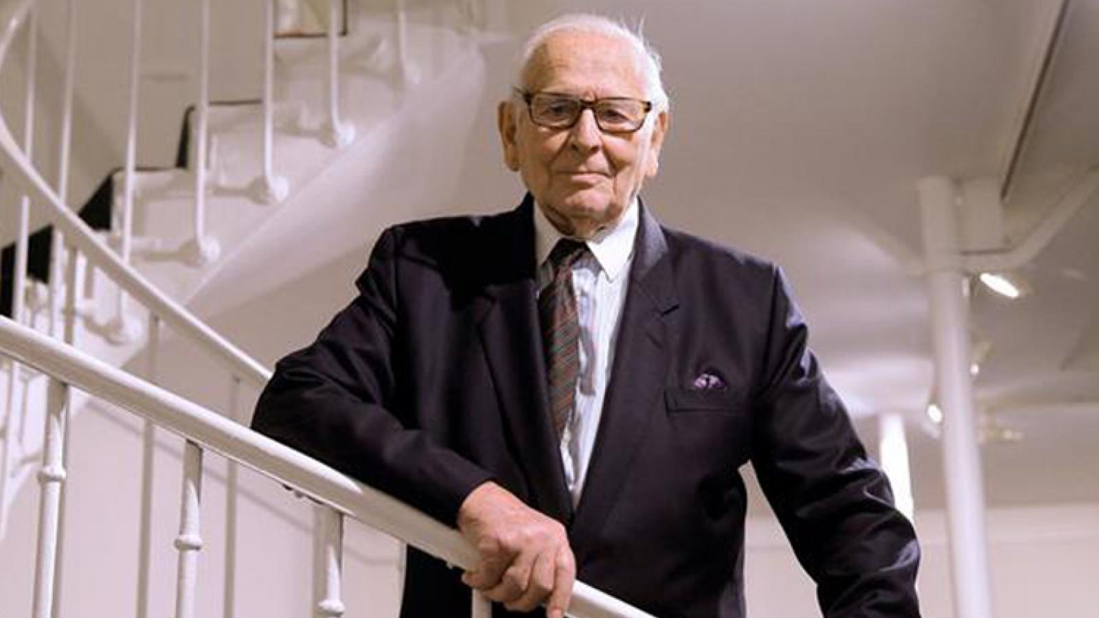 Biểu tượng thời trang Pháp Pierre Cardin qua đời ở tuổi 98