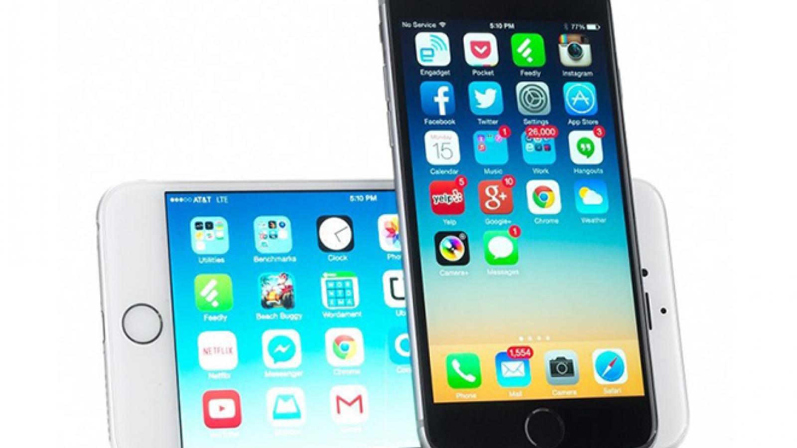 iPhone 5S và iPhone 6 bất ngờ nhận bản cập nhật iOS mới đầy chất lượng