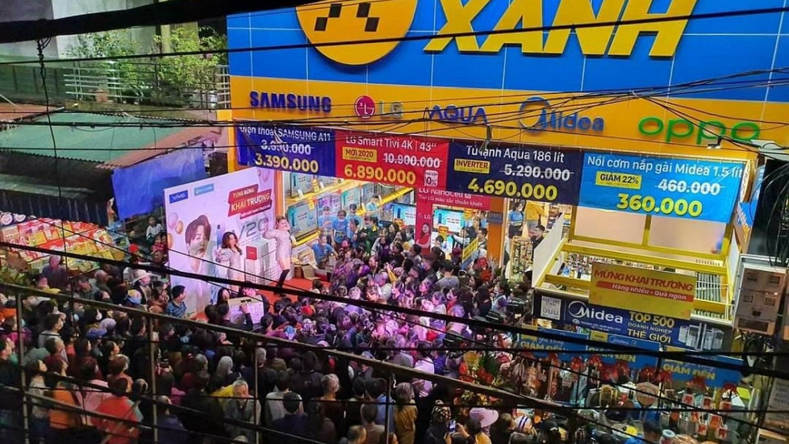 Thế giới Di dộng mở rộng chuỗi cửa hàng 'thần tốc' bất chấp dịch Covid-19