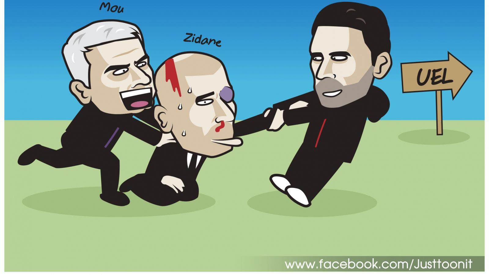 Biếm họa 24h: Neymar phục hận MU, Mikel Arteta lôi kéo Zidane