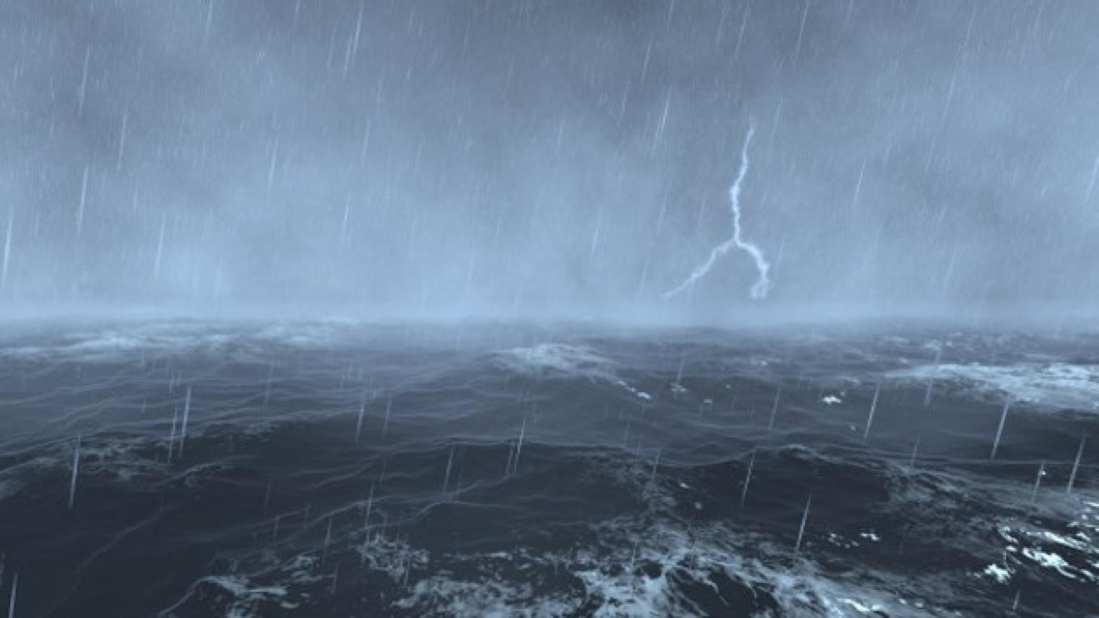Cảnh báo mưa dông, lốc xoáy và gió giật mạnh ở khu vực Nam biển Đông