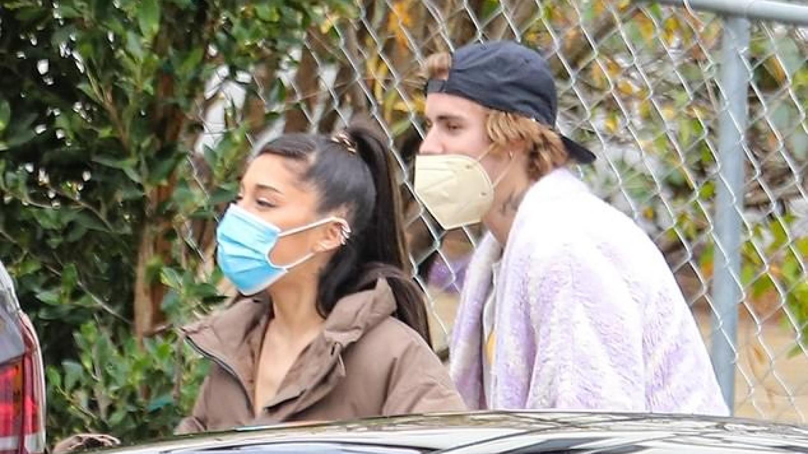 Justin Bieber hào hứng dẫn bạn thân Ariana Grande đi xem biệt thự