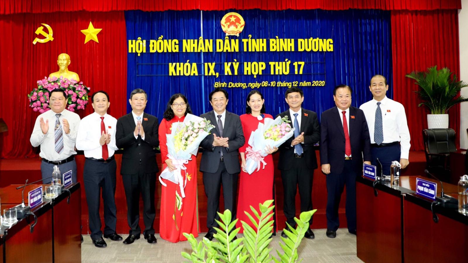 Bà Nguyễn Trường Nhật Phượng được bầu làm Phó Chủ tịch HĐND tỉnh Bình Dương