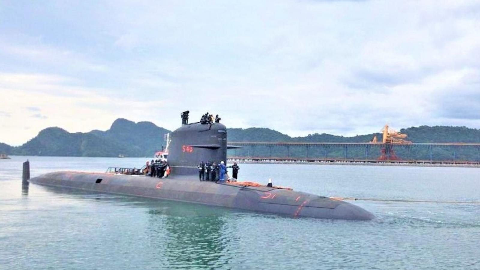 Indonesia chú trọng phát triển lực lượng tàu ngầm
