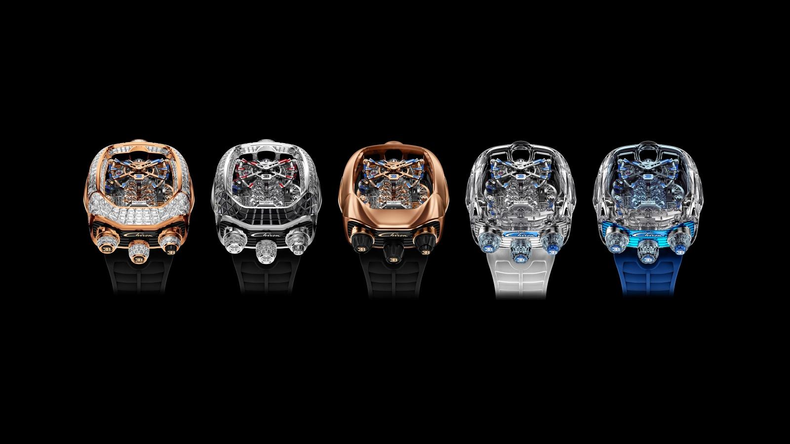 Bugatti tiếp tục kết hợp với Jacob & Co ra mắt mẫu đồng hồ tiền tỷ
