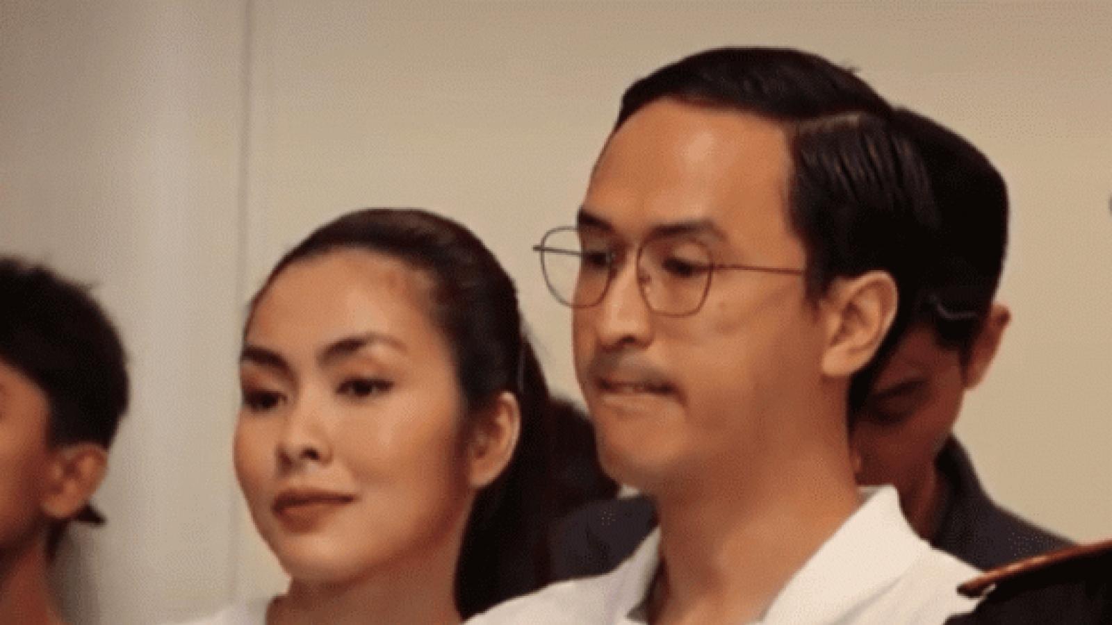 Chuyện showbiz: Khoảnh khắc Tăng Thanh Hà nhẹ nhàng tựa đầu vào vai chồng gây sốt MXH