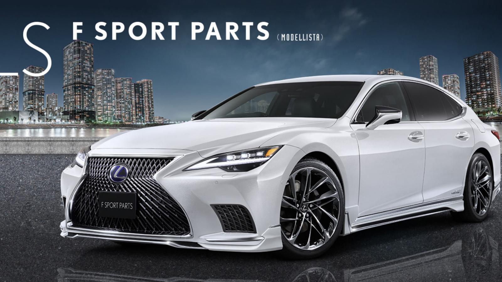 "Ngắm nhìn Lexus LS 2021 sau khi ""qua tay"" Modellista"
