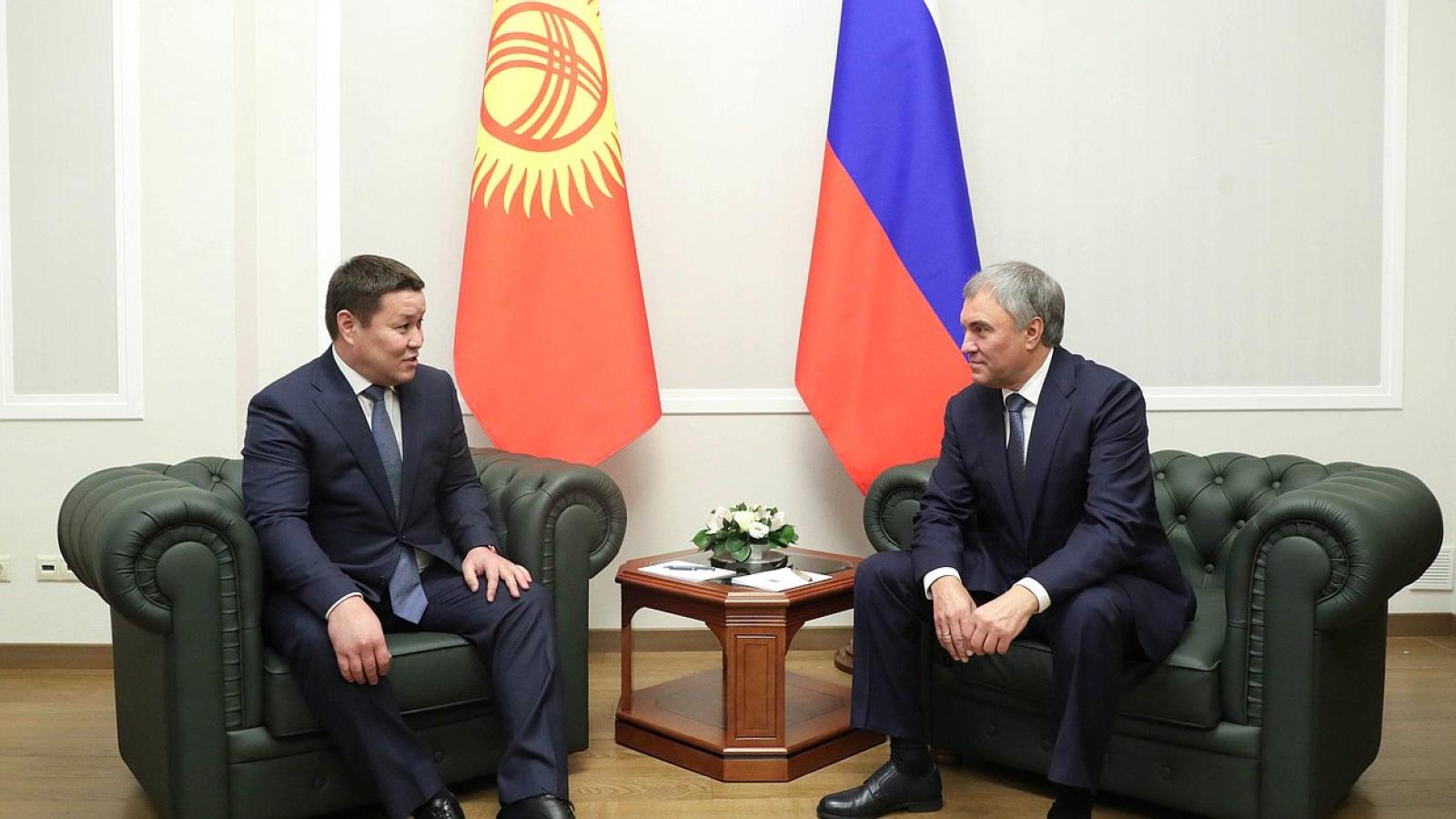 Nga mong muốn Kyrgystan là quốc gia mạnh và có chủ quyền