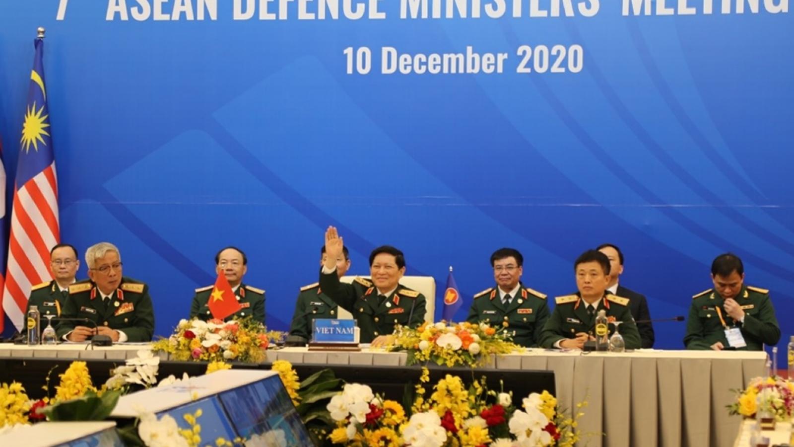 Khai mạc Hội nghị Bộ trưởng Quốc phòng ASEAN mở rộng