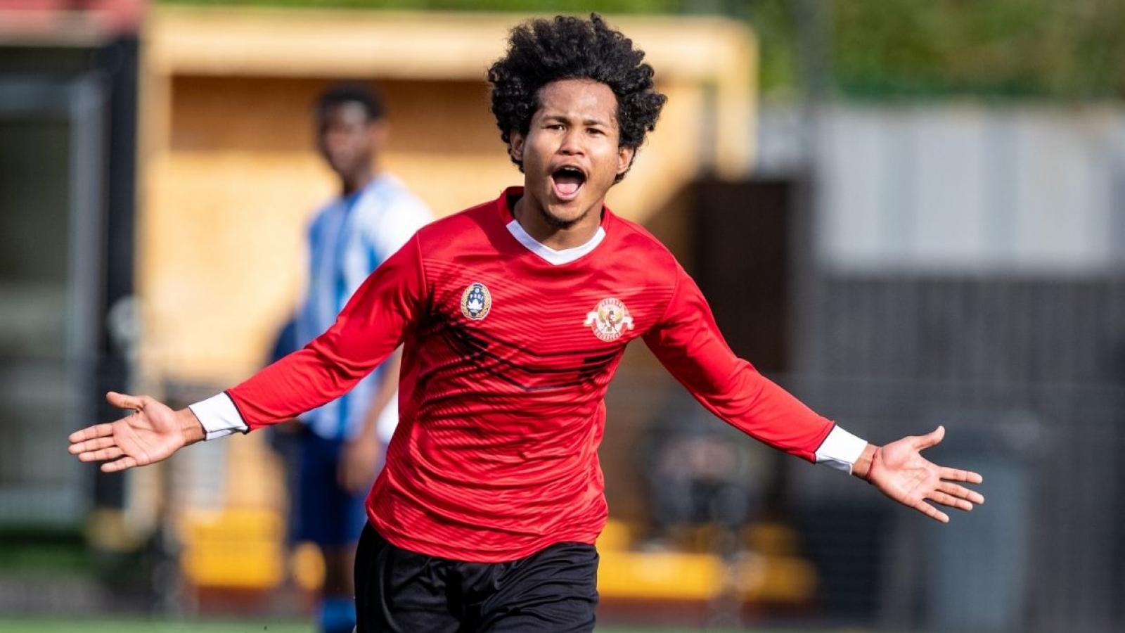 Tài năng trẻ Indonesia gia nhập đội bóng Hà Lan