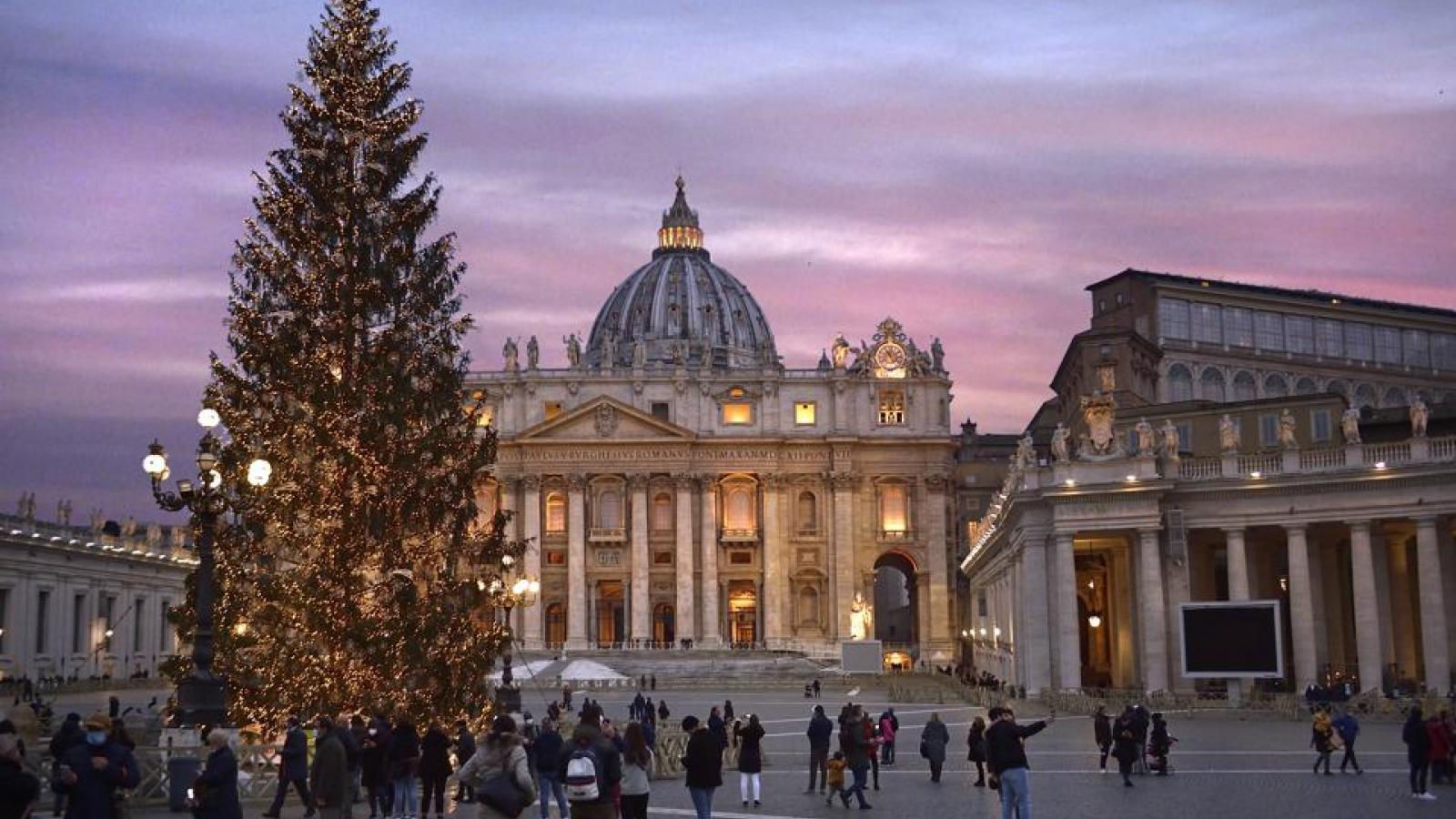 Dạo quanh thế giới ngắm những cây thông Noel rực rỡ sắc màu