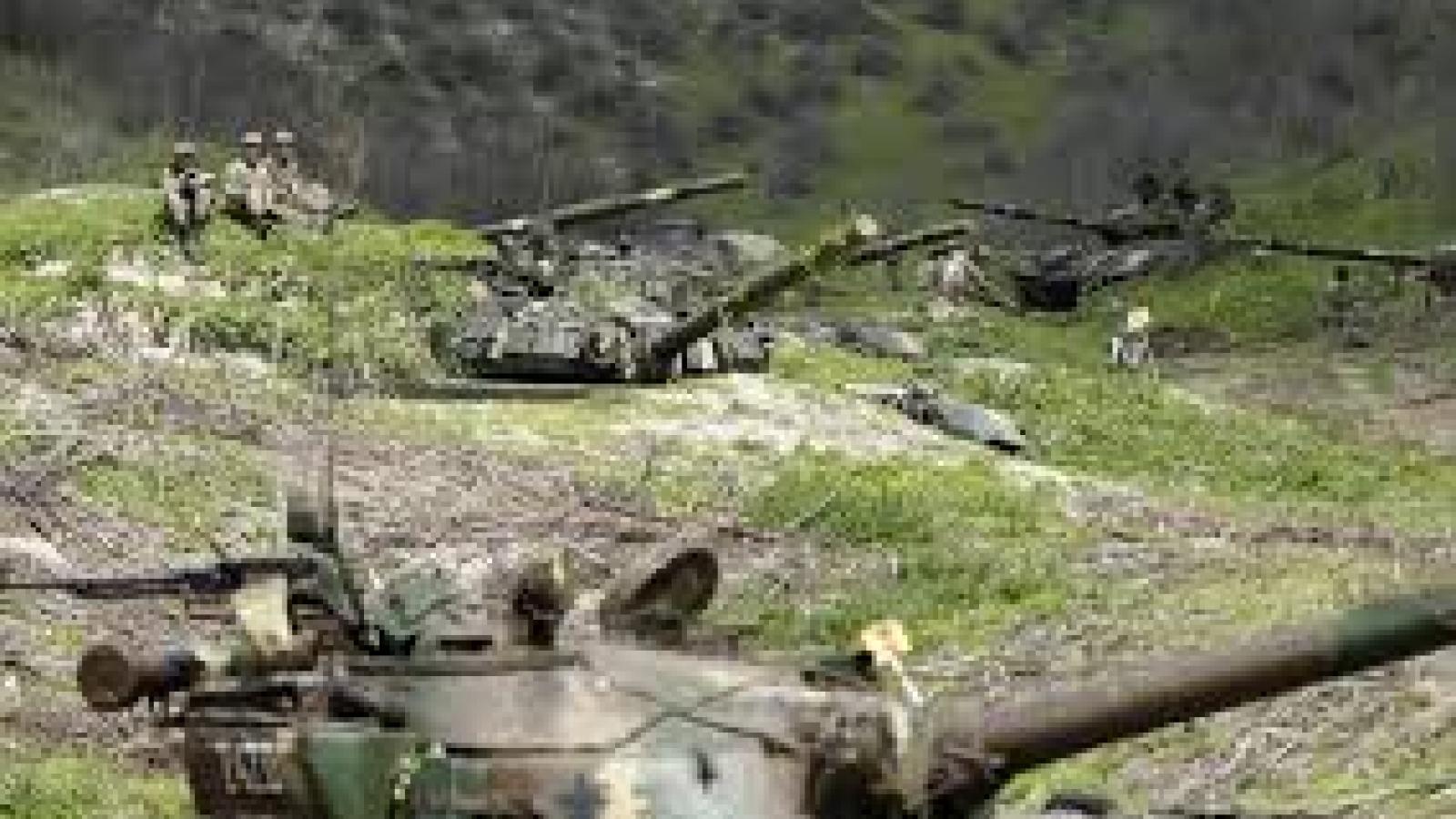 Lệnh ngừng bắn lại bị vi phạm ở khu vực Nagorno-Karabakh