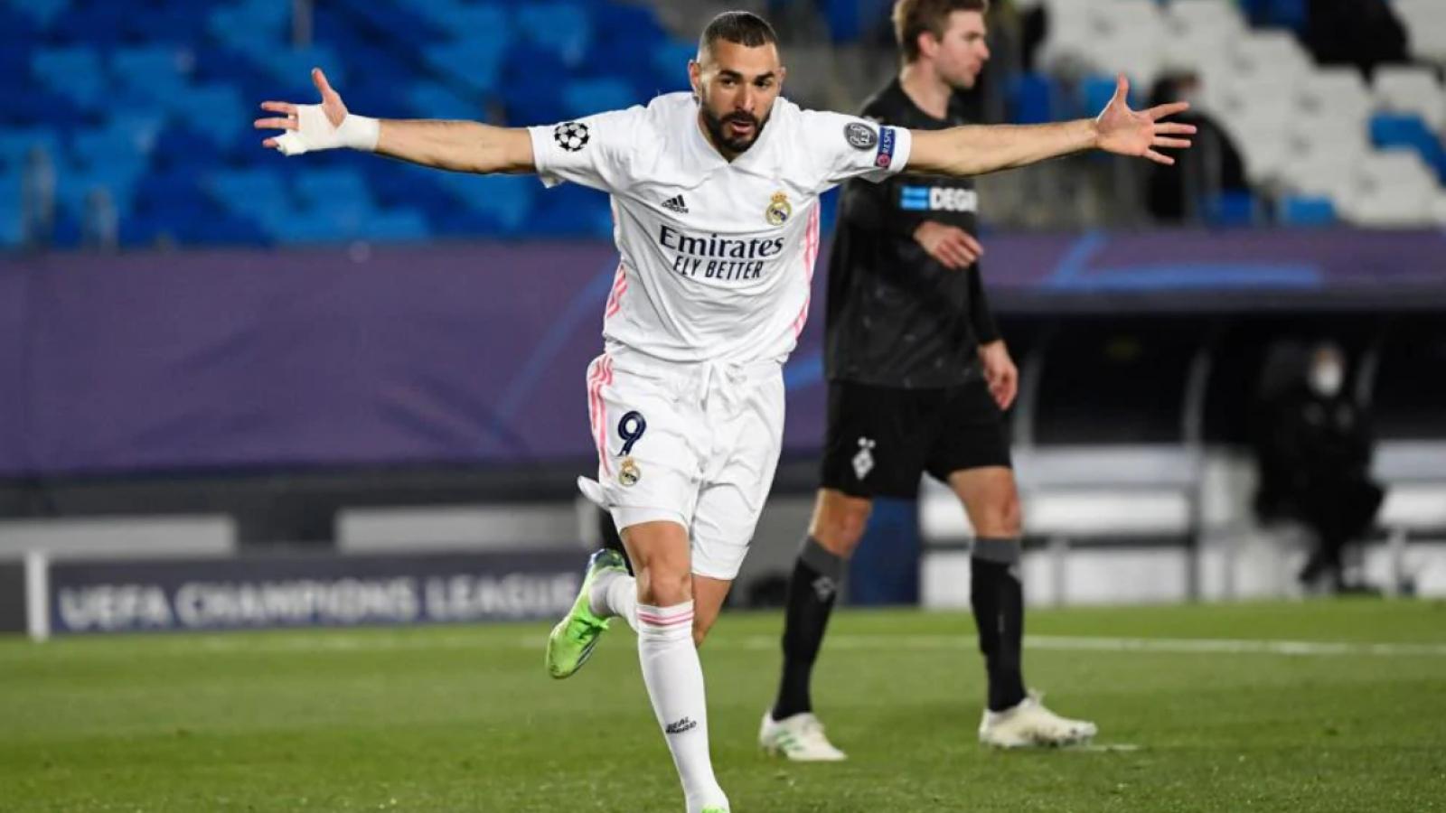Thắng dễ Monchengladbach, Real Madrid tiến vào vòng 1/8 Champions League