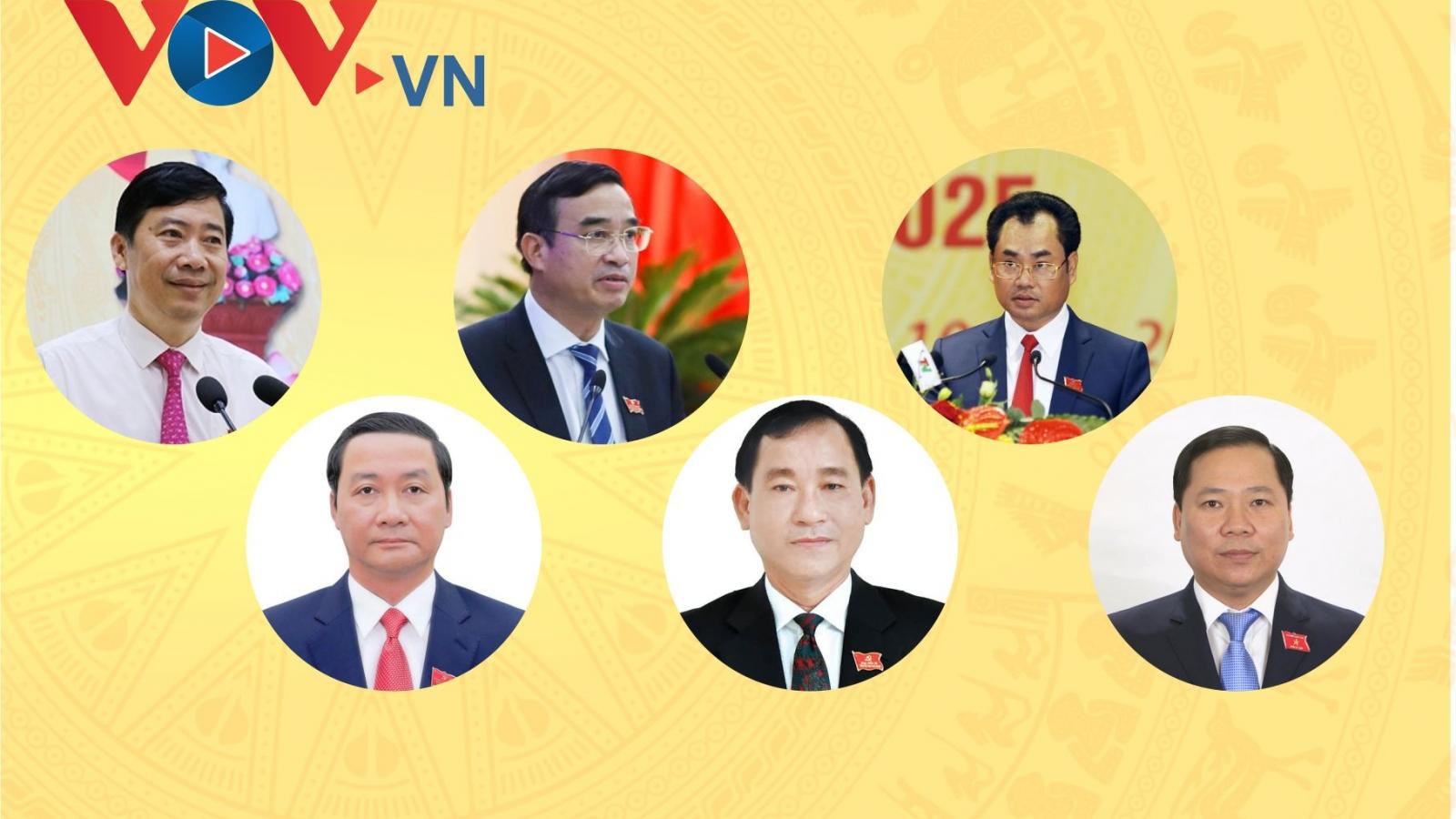 Chân dung 6 Chủ tịch UBND tỉnh, thành được bầu trong tuần qua