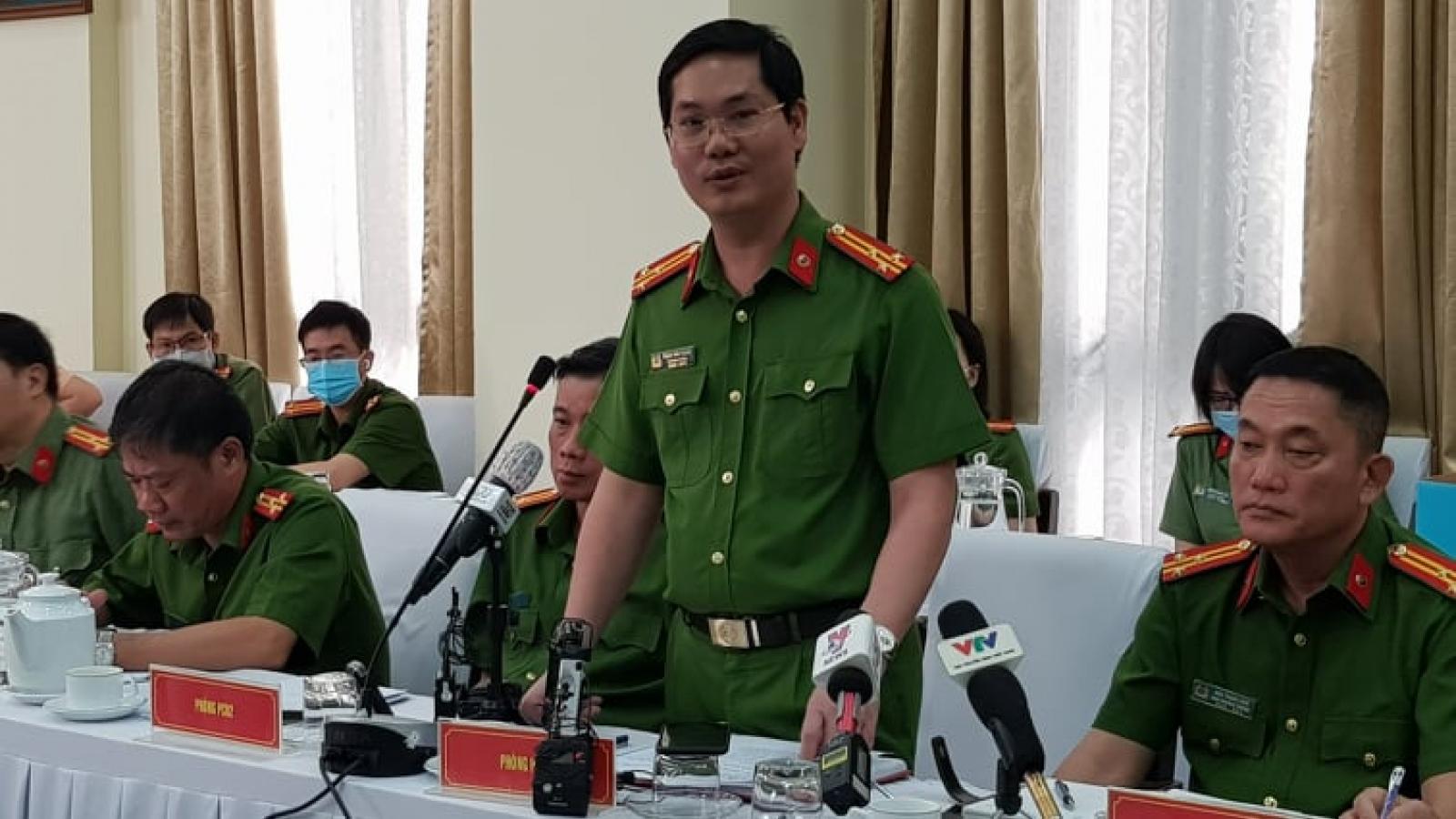Công an TP.HCM thông tin về vụ án liên quan ông Tất Thành Cang
