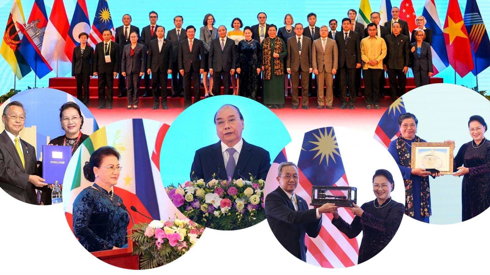 Dấu ấn Việt Nam qua kỳ AIPA lịch sử