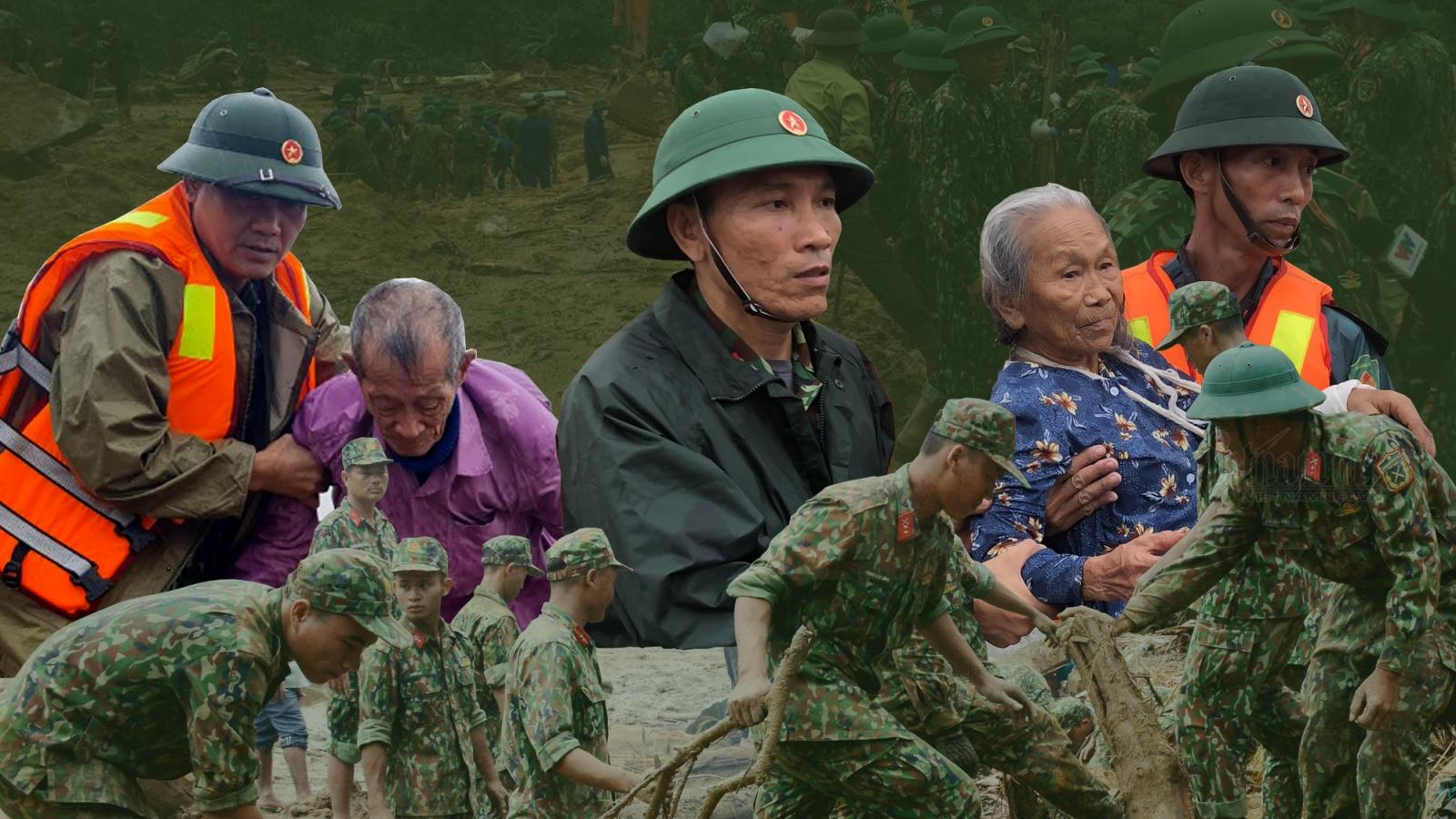 Một năm gian khổ, hy sinh của những người lính thời bình