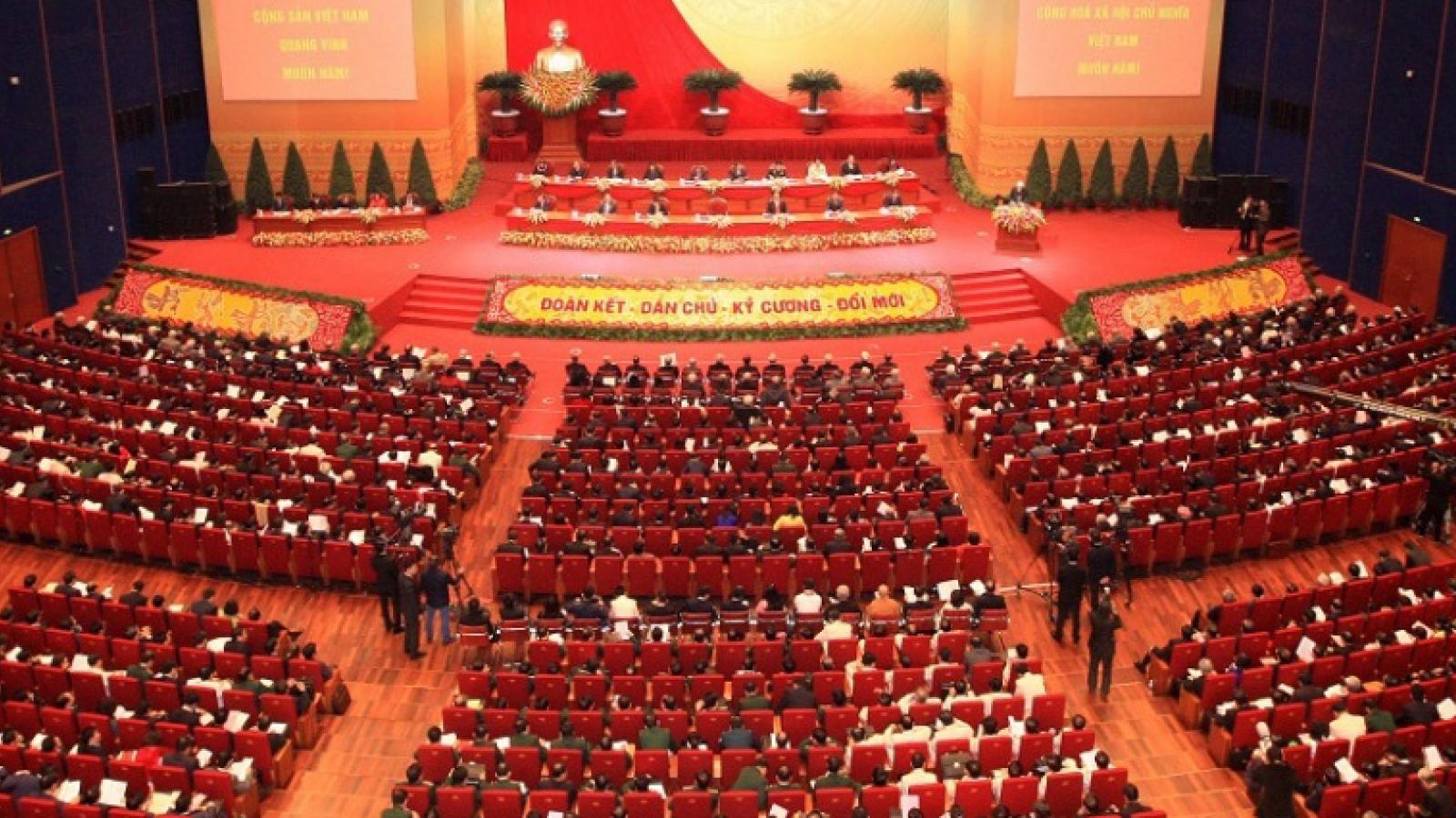 Đại hội Đảng toàn quốc lần thứ XIII sẽ diễn ra từ ngày 25/1/2021 đến 2/2/2021