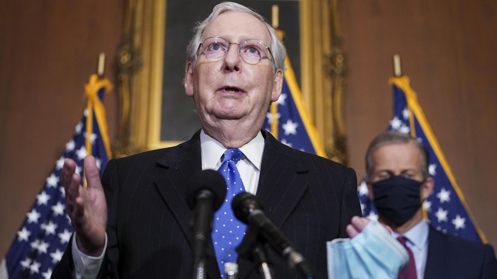 """Đảng Cộng hòa né """"bẫy"""" của đảng Dân chủ, từ chối công nhận Tổng thống đắc cử Biden"""