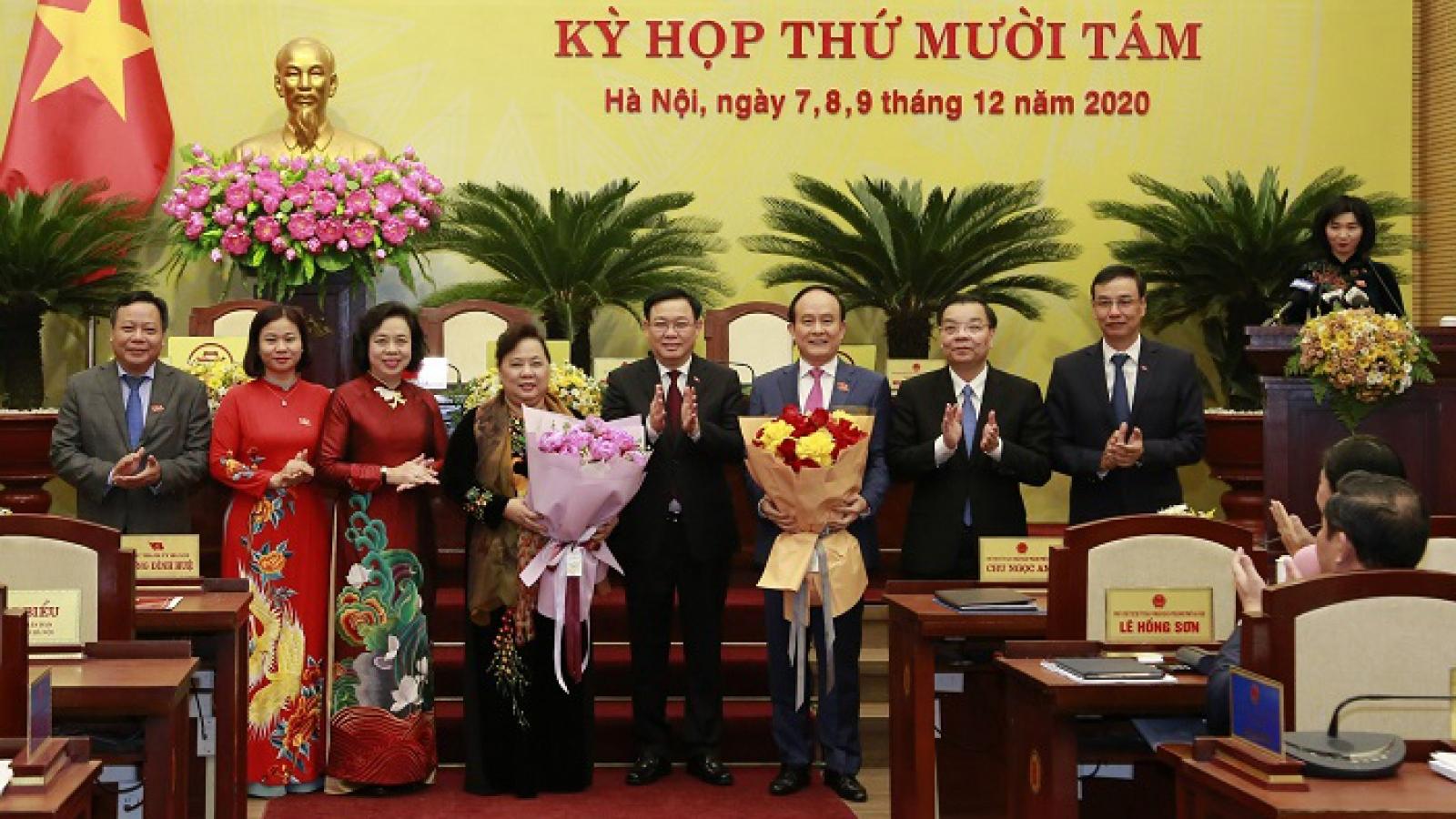 Ủy ban Thường vụ Quốc hội phê chuẩn nhân sự 9 tỉnh, thành phố