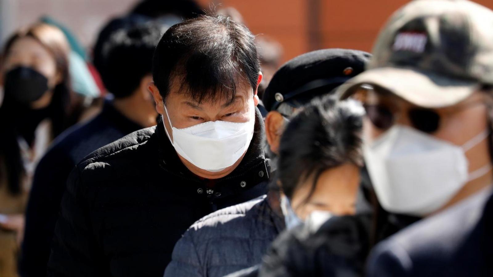 Số ca tử vong do Covid-19 ở Hàn Quốc cao kỷ lục trong 24 giờ qua