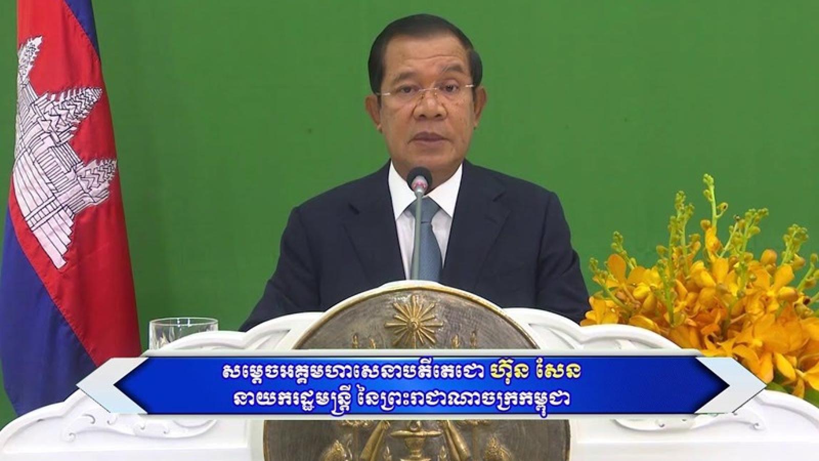 Campuchia cam kết chống biến đổi khí hậu bằng chiến lược dài hạn