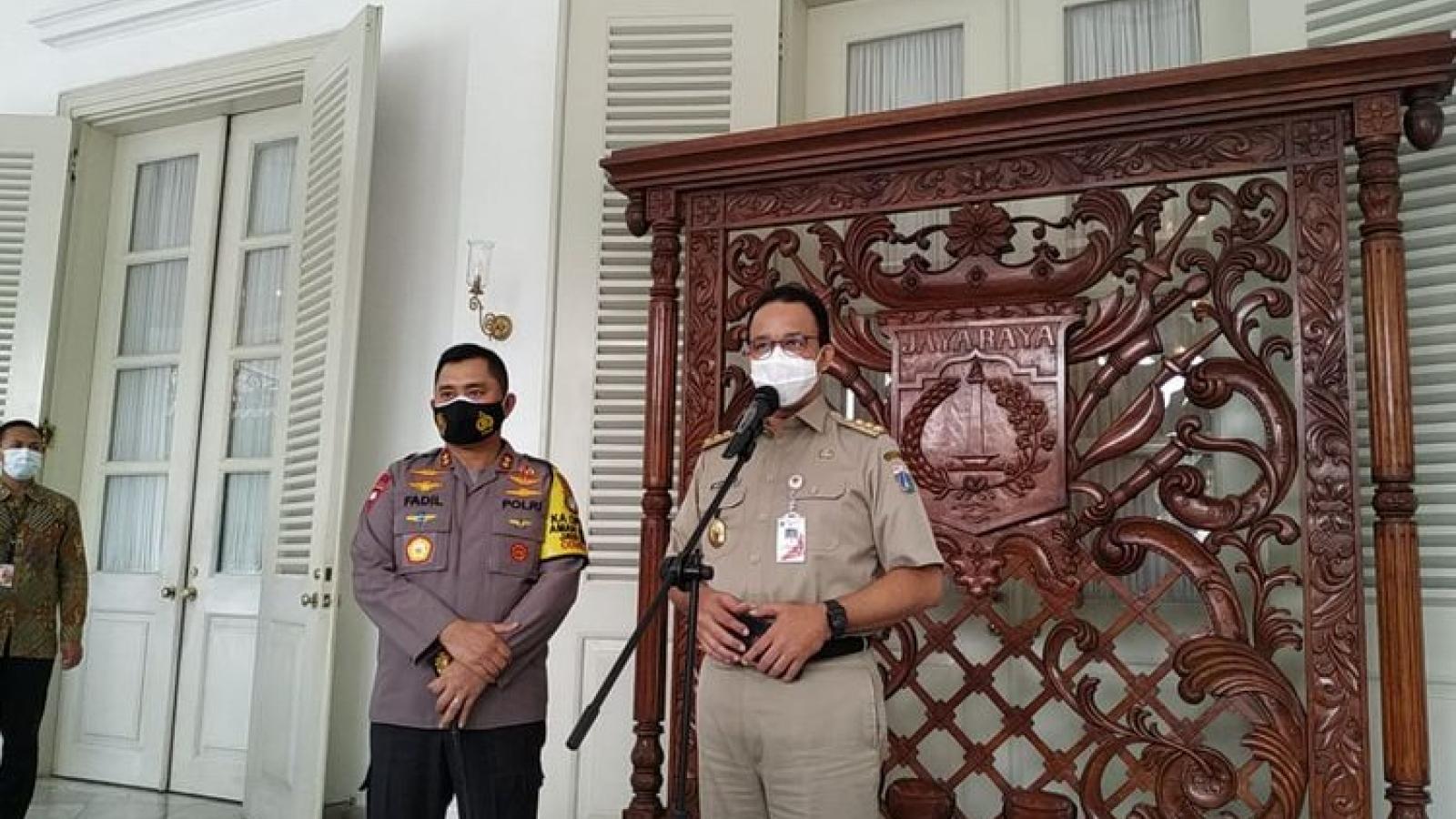 Thống đốc và Phó Thống đốc Jakarta (Indonesia) mắc Covid-19