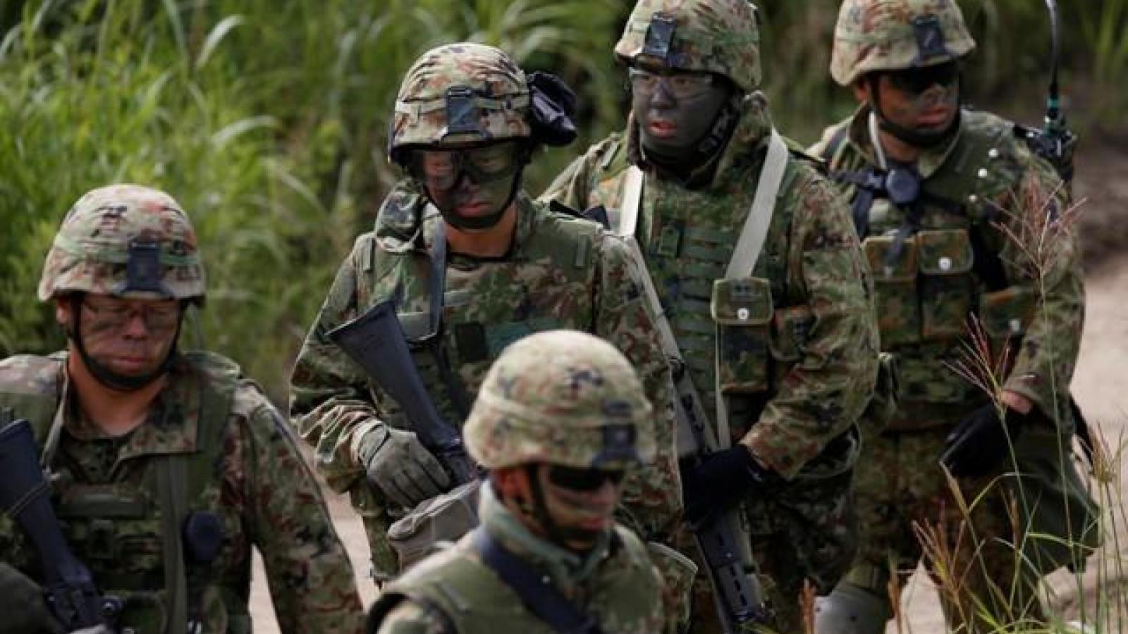 Nhật Bản thông qua mức ngân sách quốc phòng cao kỷ lục
