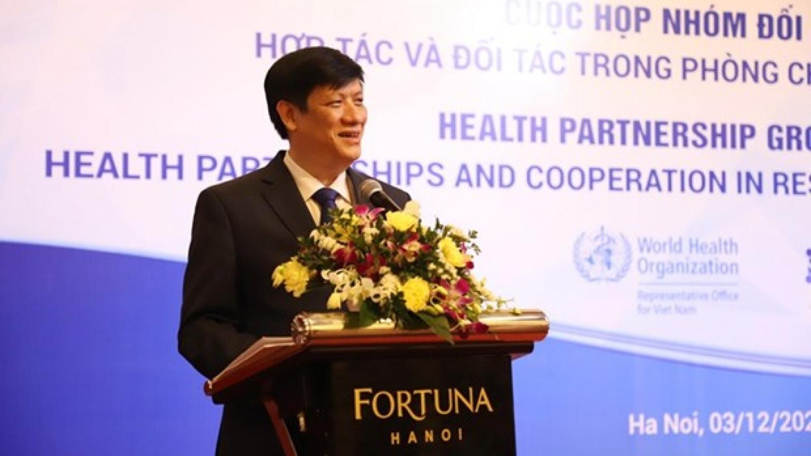 Vietnam bolsters health partnerships to tackle COVID-19