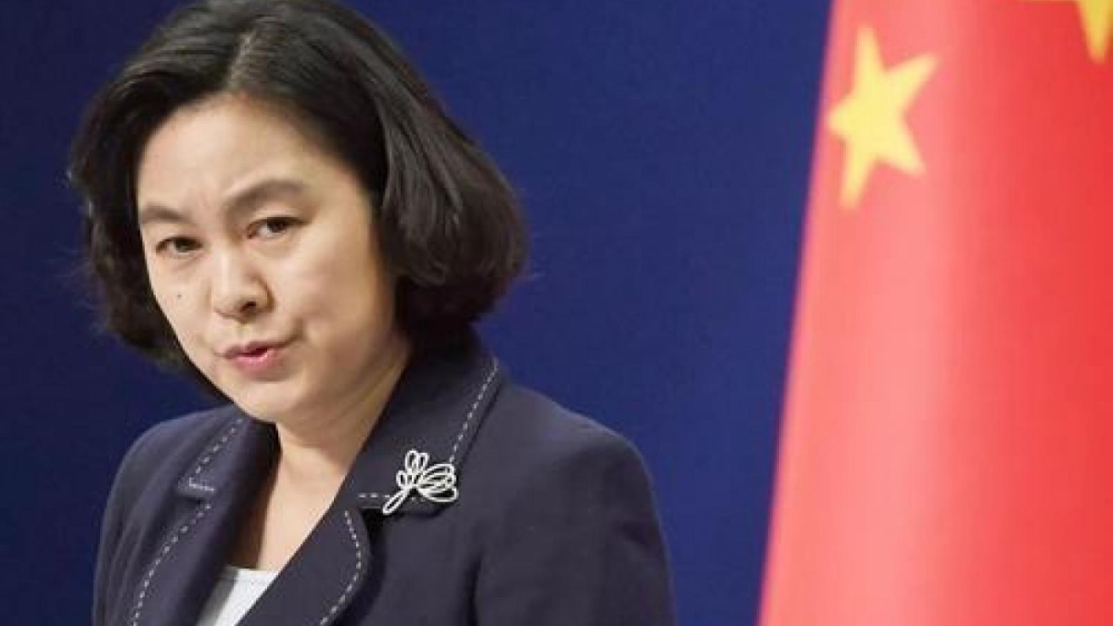 """Trung Quốc """"trừng phạt đối đẳng"""" Mỹ về vấn đề Hong Kong"""