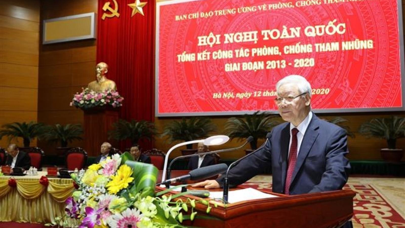 Fight against corruption progressing in Vietnam