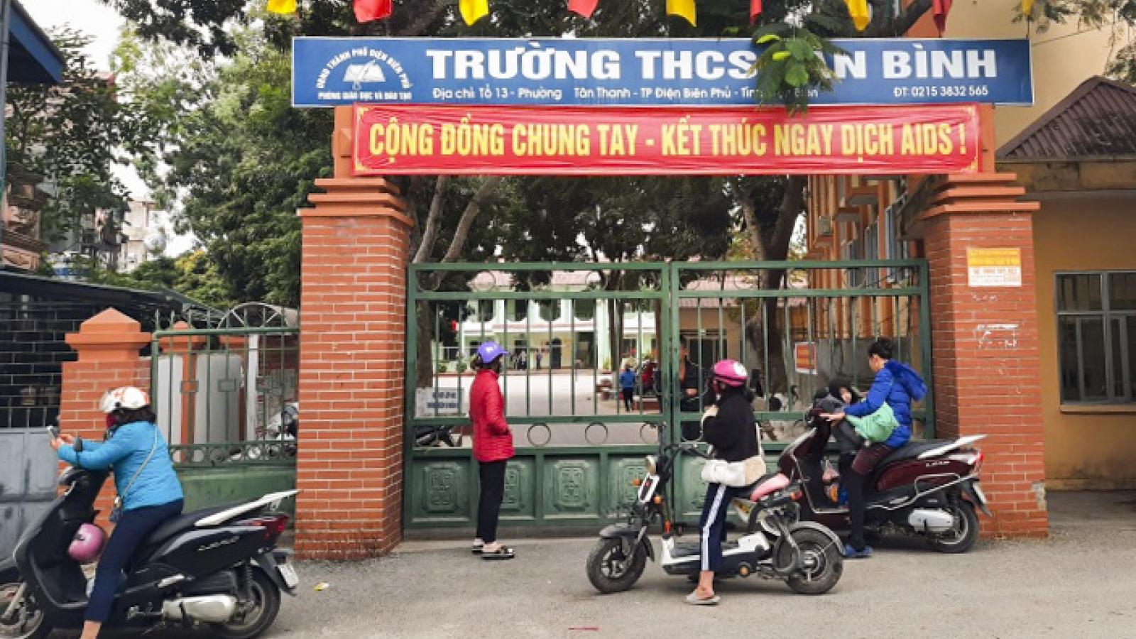"""Sau vụ phụ huynh hành hung học sinh: Điện Biên """"siết"""" an ninh trường học"""