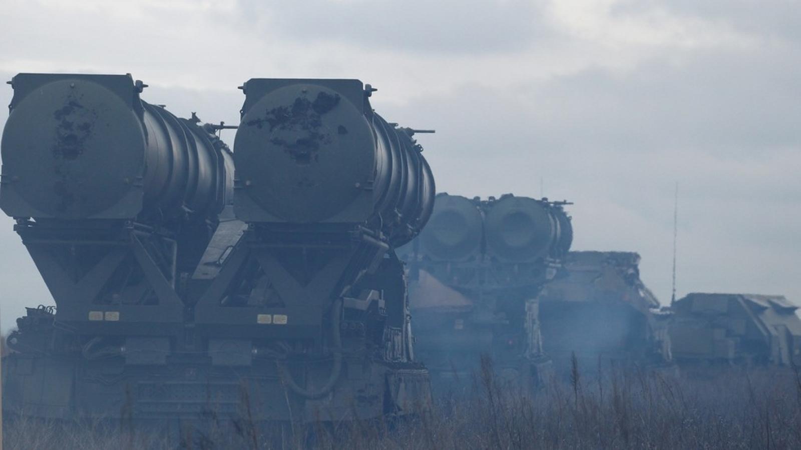 Nga đưa S-300V4 vào hoạt động ở quần đảo Kuril