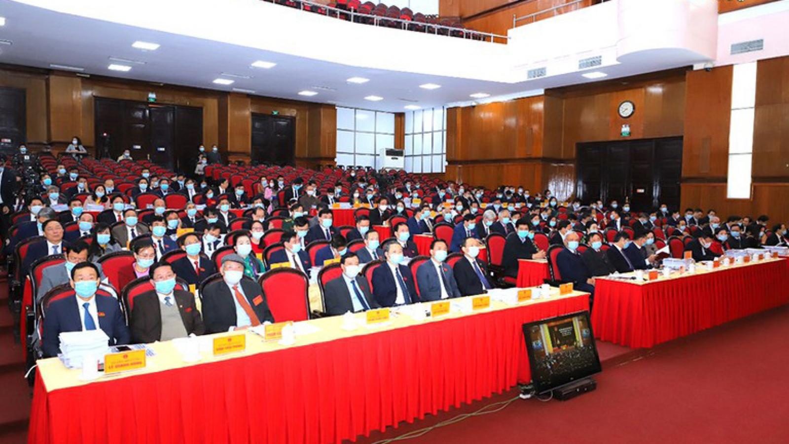 Thanh Hoá: Miễn nhiệm và bầu bổ sung nhiều chức danh chủ chốt
