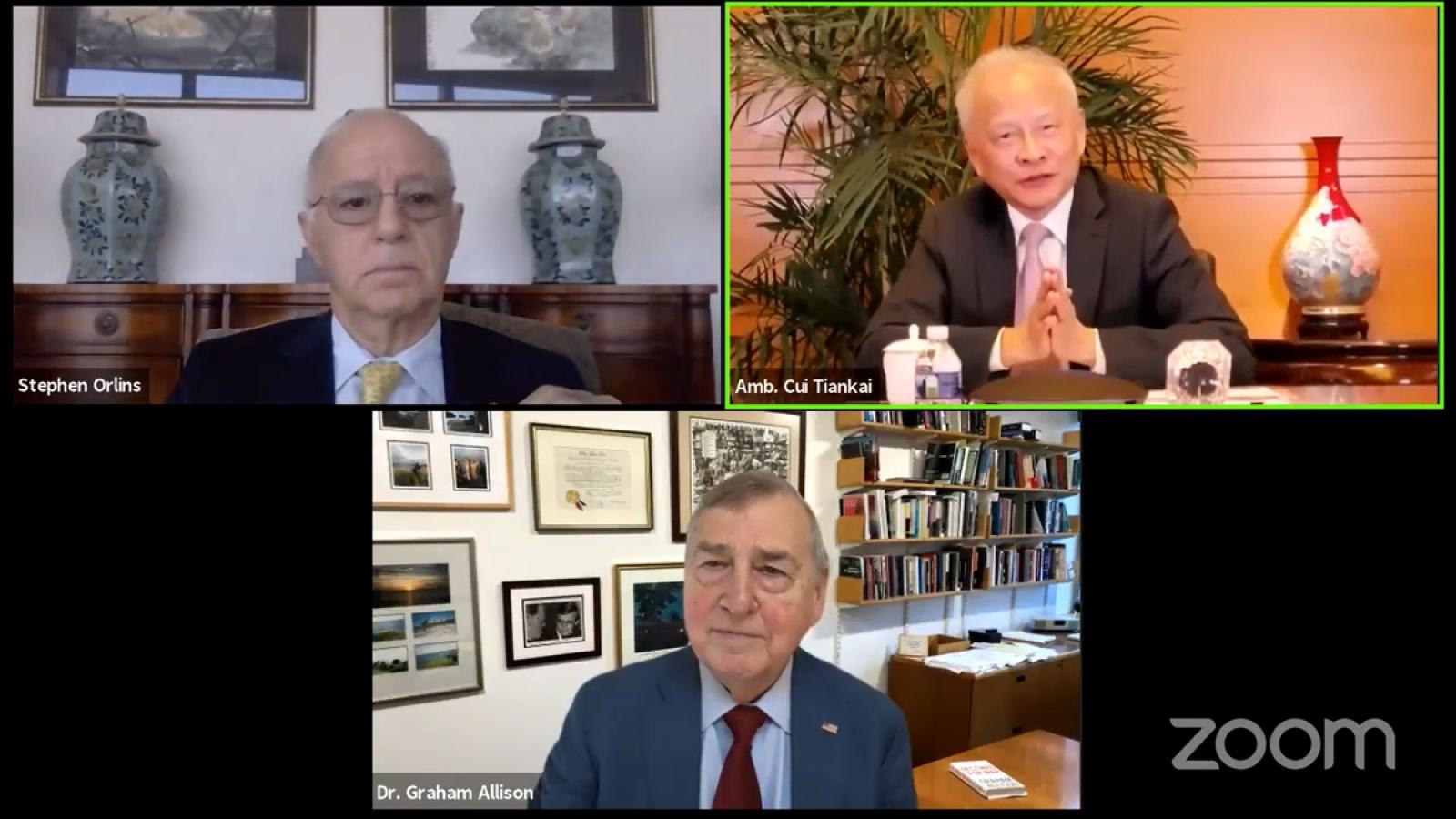 """Đại sứ Trung Quốc tại Mỹ kêu gọi Washington """"mở ra con đường mới"""""""