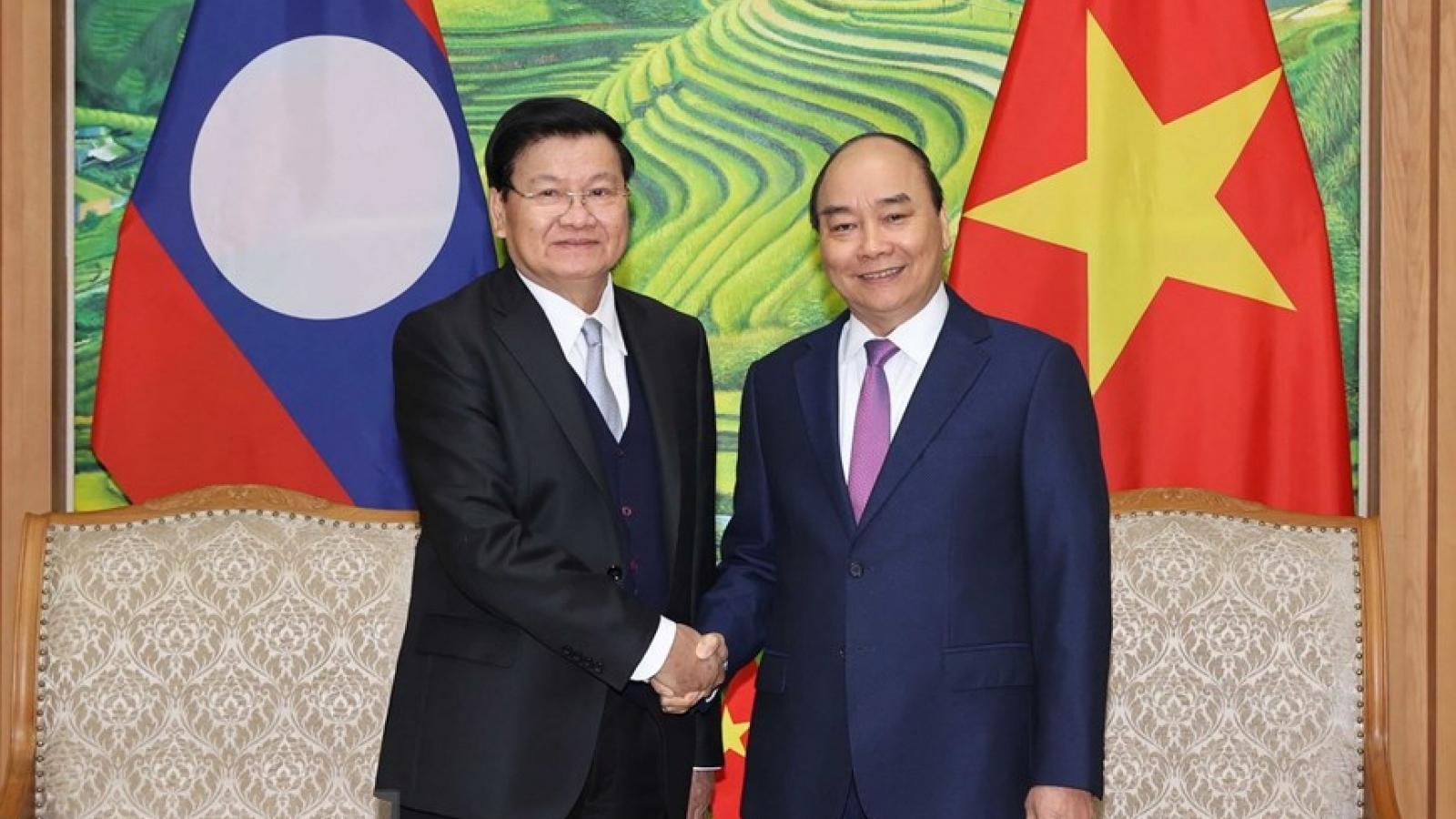 Kỳ họp 43 Ủy ban liên chính phủ Việt Nam-Lào: 17 văn kiện hợp tác được ký kết